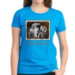 Keeshond Playtime Women's Dark T-Shirt