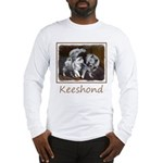 Keeshond Playtime Long Sleeve T-Shirt