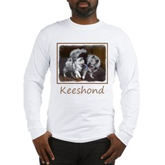Keeshond Playtime Long Sleeve T-Shirt