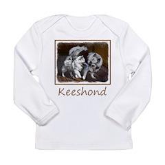 Keeshond Playtime Long Sleeve Infant T-Shirt