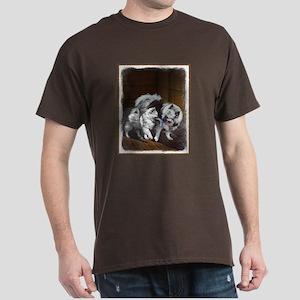 Keeshond Playtime Dark T-Shirt