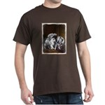 Keeshond Playtime Dark T-Shirt