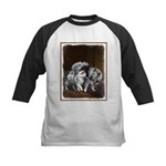 Keeshond Playtime Kids Baseball Tee