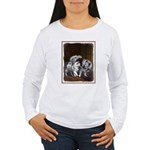 Keeshond Playtime Women's Long Sleeve T-Shirt