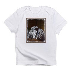 Keeshond Playtime Infant T-Shirt