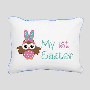 My 1st Easter Rectangular Canvas Pillow