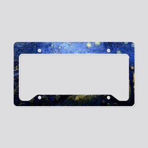 Starry Night Over the Rhone,  License Plate Holder