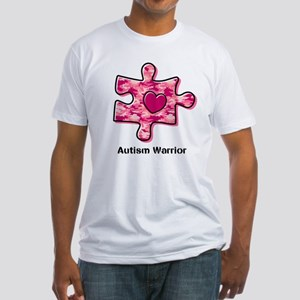 Autism Warrior Fitted T-Shirt