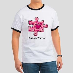 Autism Warrior Ringer T