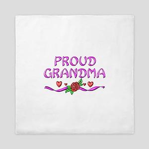 Proud Grandma Queen Duvet