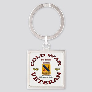 3rd Squadron 14th ACR Square Keychain