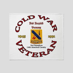 3rd Squadron 14th ACR Throw Blanket