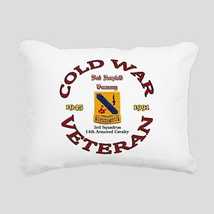 3rd Squadron 14th ACR Rectangular Canvas Pillow