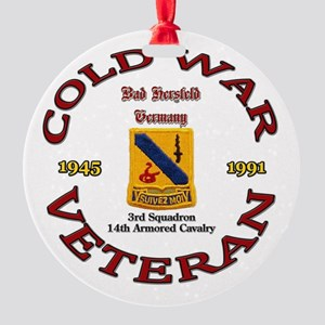 3rd Squadron 14th ACR Round Ornament