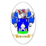 Fuentes Sticker (Oval 10 pk)
