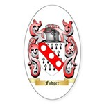 Fudger Sticker (Oval 10 pk)