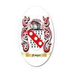Fudger 20x12 Oval Wall Decal