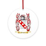Fudger Ornament (Round)