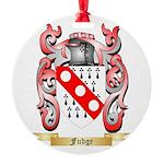 Fudge Round Ornament