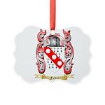 Fudge Picture Ornament