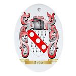 Fudge Ornament (Oval)
