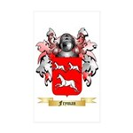 Fryman Sticker (Rectangle 50 pk)