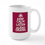Keep Calm and Listen to Audio Drama Mugs