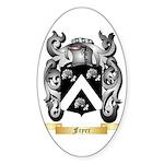Fryer Sticker (Oval)