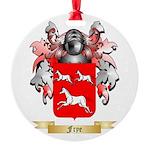 Frye Round Ornament