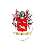 Fry Oval Car Magnet