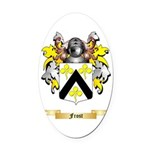 Frost Oval Car Magnet