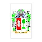 Fronek Sticker (Rectangle)