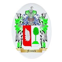 Fronek Ornament (Oval)