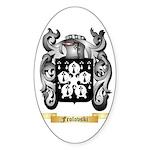 Frolovski Sticker (Oval)