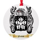 Frolov Round Ornament