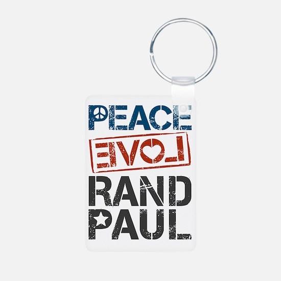 Peace Love Rand Paul Keychains