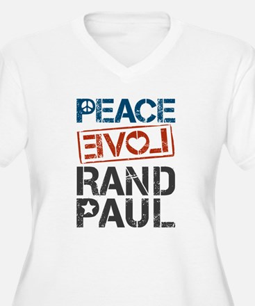Peace Love Rand P T-Shirt