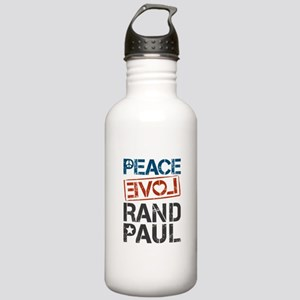 Peace Love Rand Paul Stainless Water Bottle 1.0L