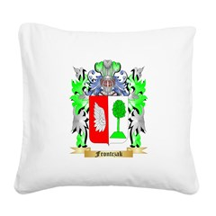 Frontczak Square Canvas Pillow