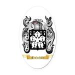 Frolochkin Oval Car Magnet
