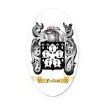 Frolkov Oval Car Magnet