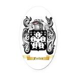 Frolkin Oval Car Magnet