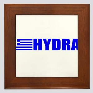 Hydra, Greece Framed Tile