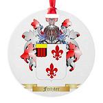 Fritzter Round Ornament