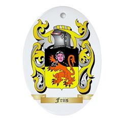 Friis Ornament (Oval)