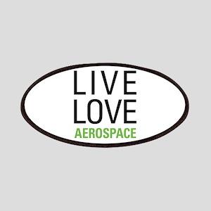 Live Love Aerospace Patches