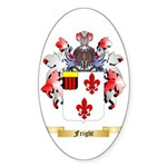 Fright Sticker (Oval 10 pk)