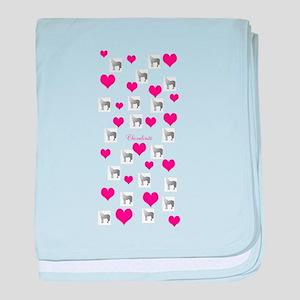 Horse Design#75000 baby blanket