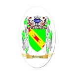 Frierson Oval Car Magnet