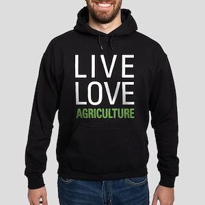 Live Love Agriculture Hoodie (dark)